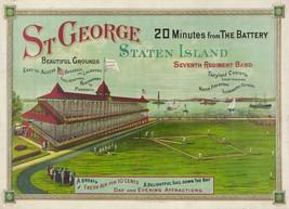 9511.Decoration Poster.Room Wall art.Home decor.Staten Island St.George Baseball - $11.29+