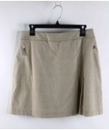 "Tail Active Apparel Cappuccino 18"" Glenn Plaid Skort 8 - $14.99"