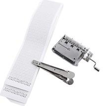 Pursuestar 30 Note DIY Hand Crank Music Box Movement + 5Pcs Refill Blank... - $30.73