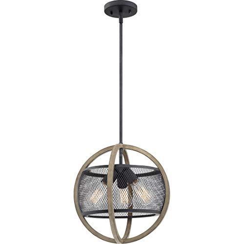 Quoizel SLA1715MB Slater Modern Globe Metal Mesh Semi Flush Mount Ceiling Lighti - $111.78