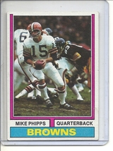 (B-1) 1974 Topps Football #87: Mike Phipps - $2.50