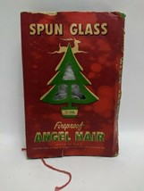 Vintage Christmas Spun Glass Angel Hair Fireproof Tinsel in Original Box... - $49.49