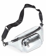 Steve Madden Blink Belt Bag Clear/Black - $34.99
