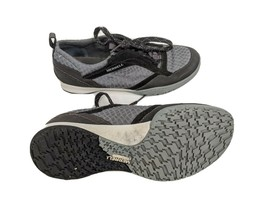 Merrell Albany Rift Womens US 8 EUR 38.5 Black Gray Casual Sneakers (J54... - $23.56