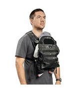 TBG - Mens Carrier for Infants and Toddlers 8-33 lbs - Compact (Black Camo) - $241.99