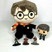 Harry Potter Toy Lot Plush Coin Bank Diecast Minis And Funko Pop  - $28.80