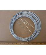 20VV00 STEEL WIRE, 19 OZ NET WT, ABOUT 40' LONG,  10 GAUGE, NEW OPEN BOX - $5.84