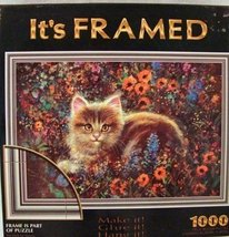 It's Framed Kitty in the Garden 1000pc Puzzle - $27.98