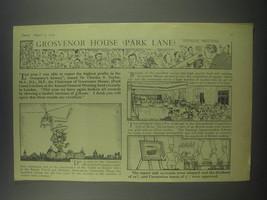 1954 Grosvenor House (Park Lane) Advertisement - Annual Meeting - $14.99