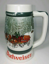 Budweiser 1982 Clydesdales 50th Anniversary Stein, Free Shipping! - $29.99