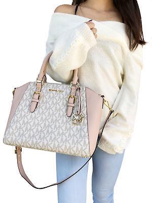 41aa101d9ae4 NWT Michael Kors Ciara Large Top Zip Satchel and 50 similar items. 1