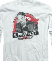 "Sons of Anarchy ""V. President"" TV series long sleeve graphic t-shirt SOA117 image 2"