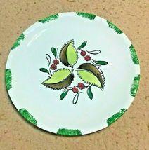 Blue Ridge Pie Crust Wild Cherry Luncheon Plate - $19.95