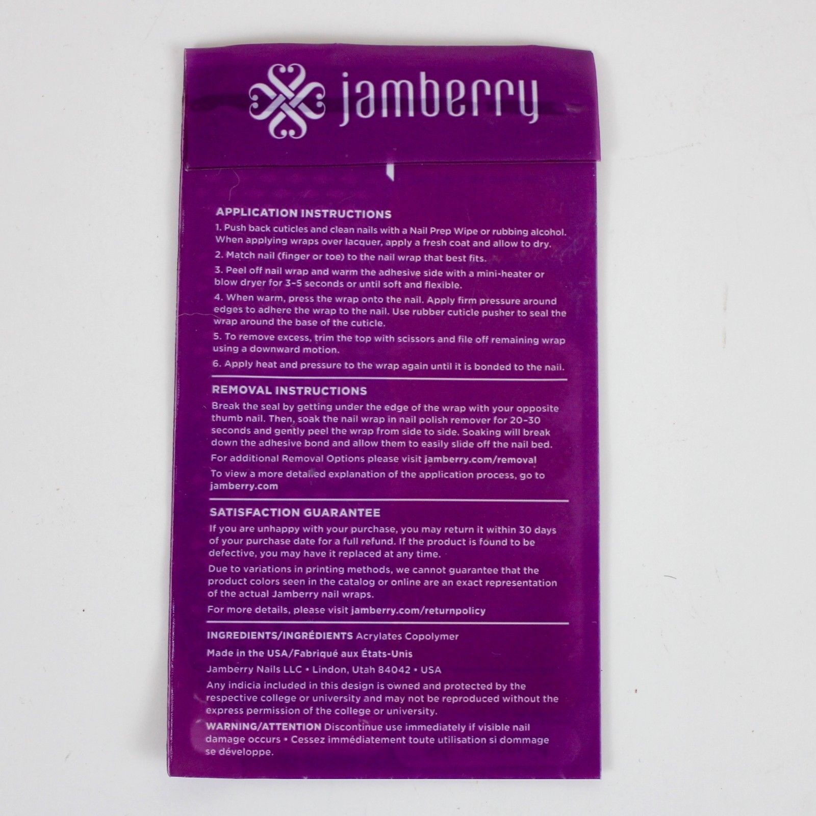 NEW Jamberry Full Sheet Nail Wrap Delight and 15 similar items