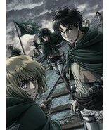 Attack on Titan Season 2 Vol.1 First Limited Edition 2 Blu-ray Booklet J... - $303.48