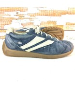 SKECHERS Womens Sneakers 7.5 M Retro Series Blue Suede Scooter Cafe Race... - $18.80