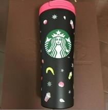 Starbucks Stainless Tumbler Frappuccino Matte Black 355ml Limited Rare J... - $93.95