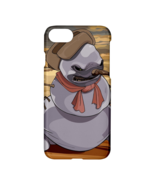 Scary Snowman Printed Apple iPhone 7 Hardshell Case - $19.99