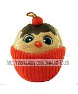 TY Baby Beanies COCO Ginger Cupcake ORNAMENT Happy Holiday CHRISTMAS Col... - $7.20