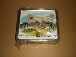 Harley-Davidson Cycle Critters Lunch Box 97818-02Z NEW no thermos - $16.45