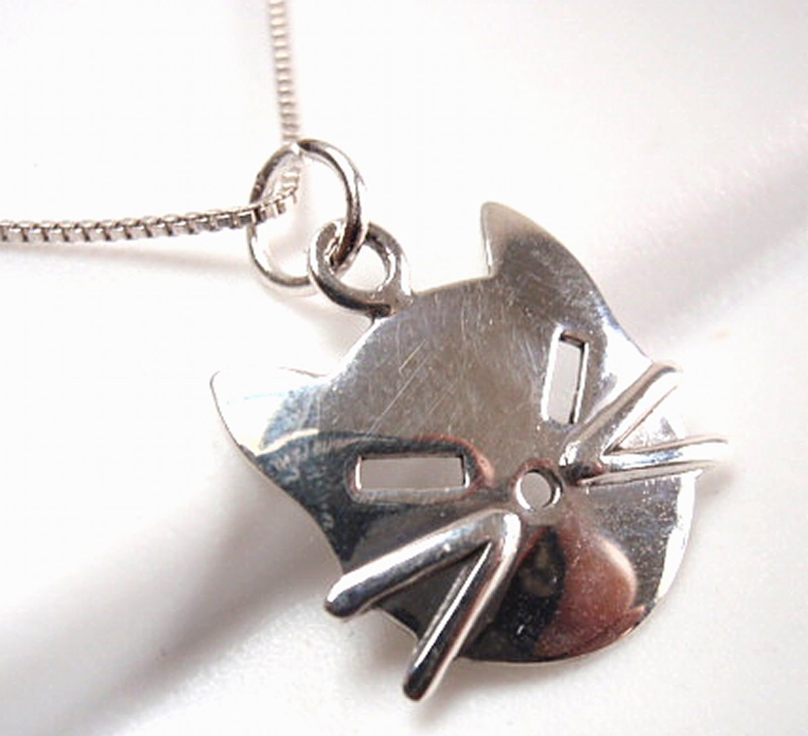 Primary image for Kitty Cat Face Necklace 925 Sterling Silver Corona Sun Jewelry kitten feline