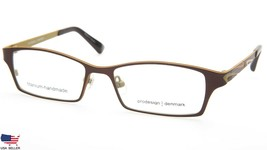 NEW PRODESIGN DENMARK 1389 c.5021 BROWN EYEGLASSES FRAME 49-15-125 B28mm... - $83.66