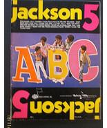 MICHAEL JACKSON,JACKSON 5 (ABC MUSIC BOOK) ORIG,1970 (CLASSIC JACKSON 5) - $123.75