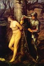 The Knight Errant by John Everett Millais - Art Print - $19.99+