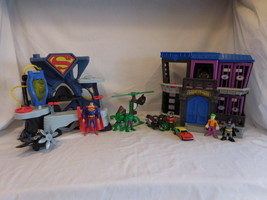 Fisher Price Imaginext DC Superheroes  Batman Superman Hulk Joker huge lot - $44.02