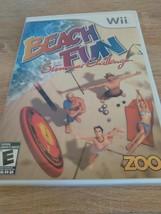 Nintendo Wii Beach Fun: Summer Challenge ~ COMPLETE image 1
