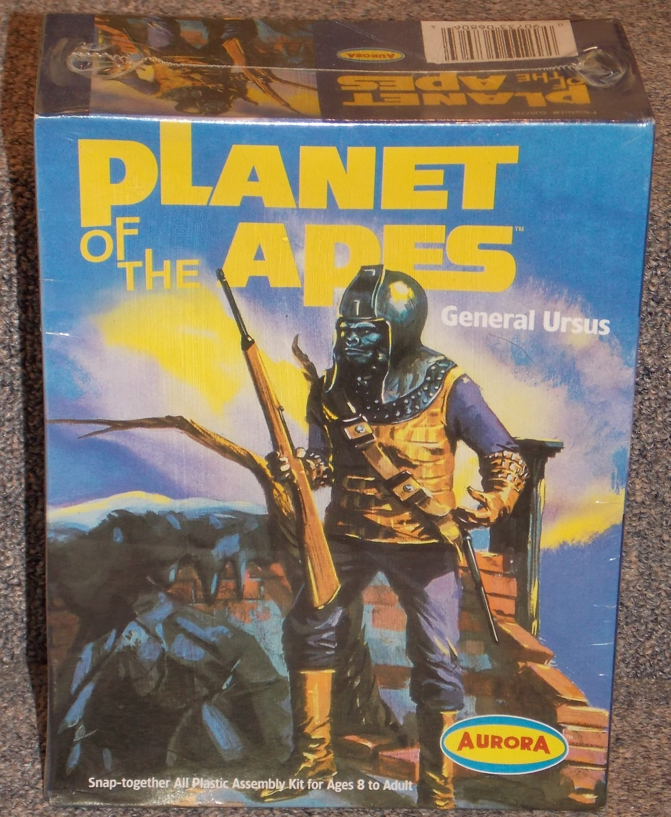 Primary image for Aurora Planet Of The Apes General Ursus Model Kit New In The Box