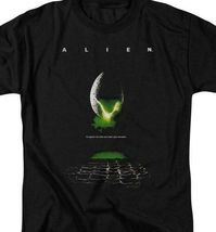 Alien t-shirt retro 70's 80's Sci-Fi horror film Ripley graphic tee TCF100 image 3
