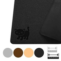 "Smiling Paws Pets Premium Jumbo Cat Litter Mat, XL 47"" x 33"", Water Resi... - $30.62"