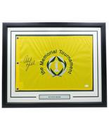 Phil Mickelson Signed Framed Memorial Tournament Golf Flag JSA LOA - $452.42
