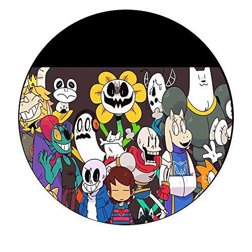 Undertale No Vacation Time Sans Pacifist Edible Cake Topper Image C01 L01 - 1/2