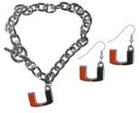 Canes chain bracelet and dangle earring set default title jademoghul 3656867938408 thumb155 crop