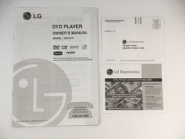 LG DVD Player DN191H Owner's Manual Used 2006 - $3.95
