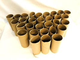 LOT of 30 Empty TOILET PAPER TUBES ROLLS CLEAN School Church Craft suppl... - $11.29