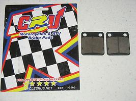 Rear New Brake Pad Set 1987-1988 Kawasaki Kxf 250 A1 / A2 TECATE-4 -P 8 4 - $10.88