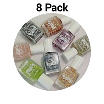 Limited Edition Sally Hansen Color Frenzy Nail Polish 8 Pack - $10.69