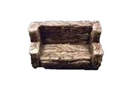 2'' Wooden Bench (Set of 2) 28mm scale pre painted Dungeon Game Terrain Accessor