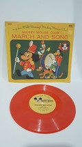 March and Song from Disney's Mickey Mouse Club 78 RPM Children's Record ... - $9.99