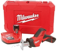 Milwaukee Compact Reciprocating Saw 12-Volt Lithium-Ion Cordless Variabl... - $176.30