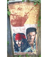 Disney Pirates of Caribbean Beach Towel Will Turner Jack Sparrow - $18.00