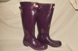 Hunter boots original tall wellies size 8 - $113.85