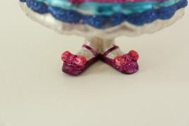 Hand Blown Glass Christmas Ornament of a little Girl  image 11