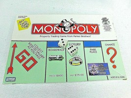 MONOPOLY Traditional 1999 Hasbro -Parker Brothers Great Pre-Owned Condition - $23.70