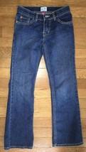 ! childrens place china blue jeans bootcut stretch denim pants sz 8 SLIM... - $6.92