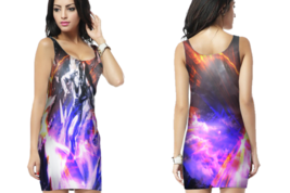 Silver Surfer 2 Bodycon Dress For Women - $25.99+