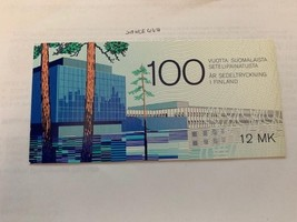 Finland Banknote printing booklet 1997 mnh - $5.50